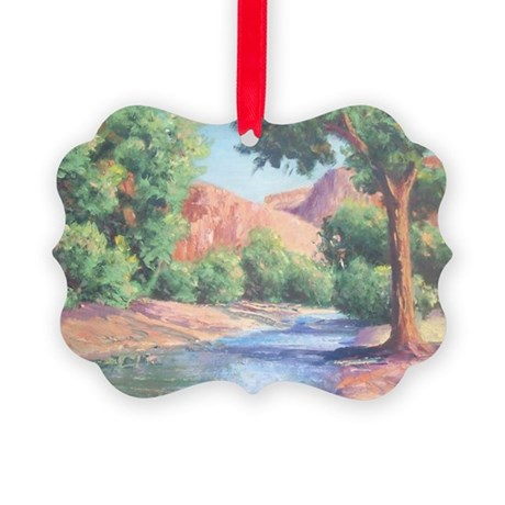 Summer Canyon Picture Ornament