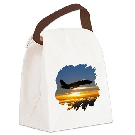 FD14tomcat.png Canvas Lunch Bag