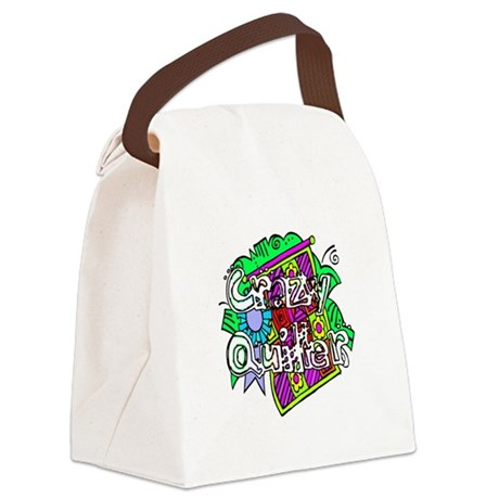 quilter1.png Canvas Lunch Bag