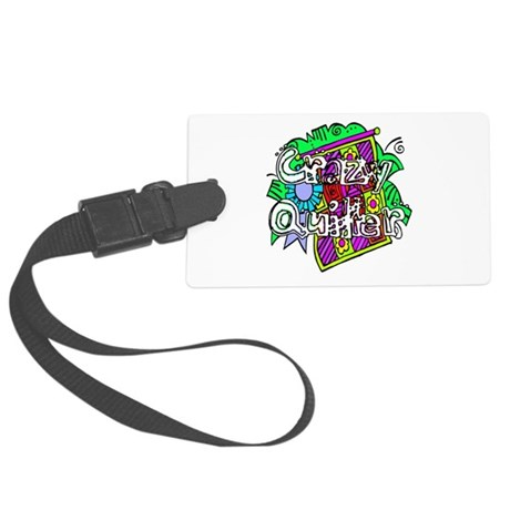 quilter1.png Large Luggage Tag
