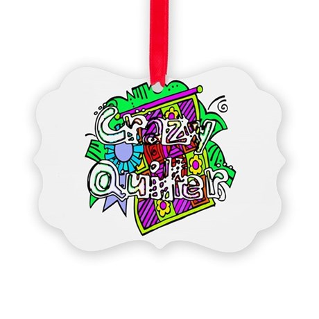 quilter1.png Picture Ornament