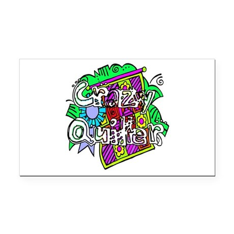 quilter1.png Rectangle Car Magnet