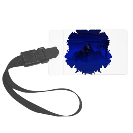 gorilla1bsq.png Large Luggage Tag