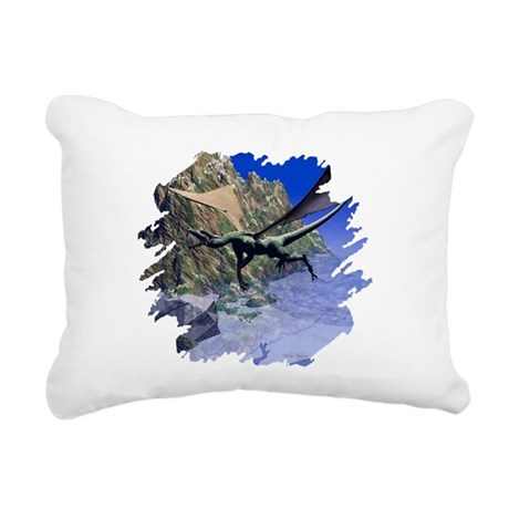 dragon3lg2.png Rectangular Canvas Pillow