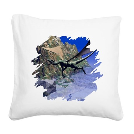 dragon3lg2.png Square Canvas Pillow