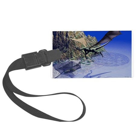 dragon3lg2.png Large Luggage Tag