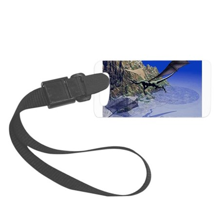 dragon3lg2.png Small Luggage Tag