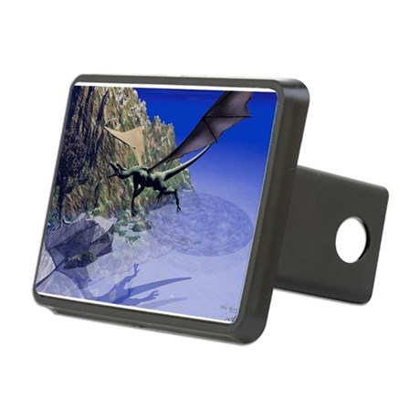 dragon3lg2.png Rectangular Hitch Cover