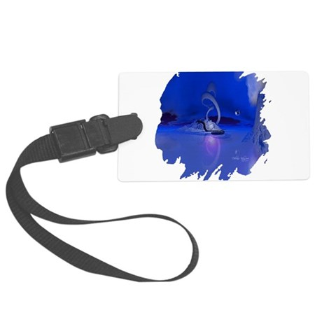 dragon1b2.png Large Luggage Tag