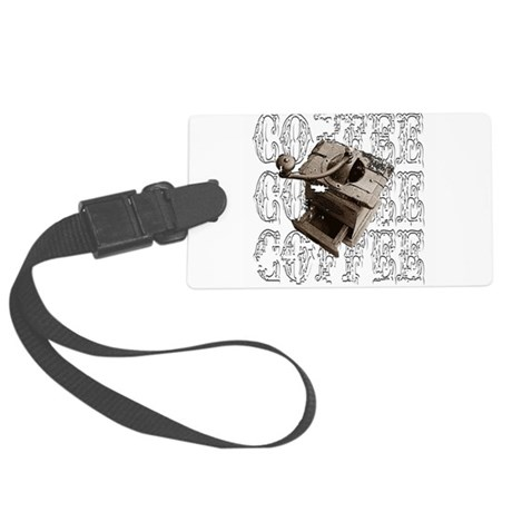 coffee3e.png Large Luggage Tag
