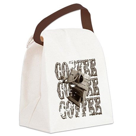 coffee3b.png Canvas Lunch Bag