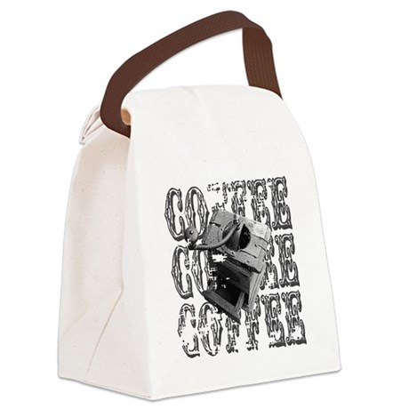 coffee3a.png Canvas Lunch Bag