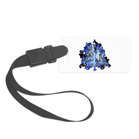 dance1.png Small Luggage Tag