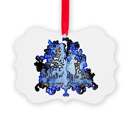 dance1.png Picture Ornament