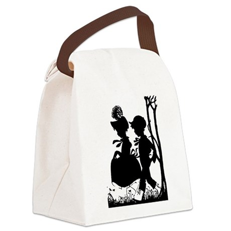couple.png Canvas Lunch Bag