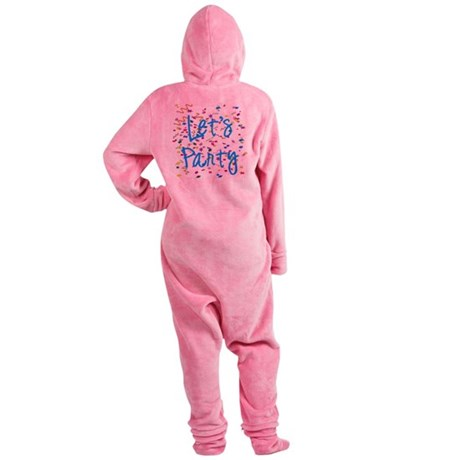 party.png Footed Pajamas