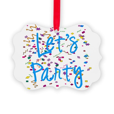 party.png Picture Ornament
