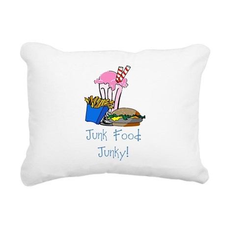 junkfood Rectangular Canvas Pillow