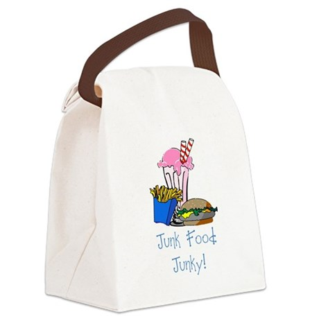 junkfood Canvas Lunch Bag
