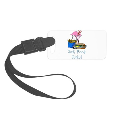 junkfood Small Luggage Tag