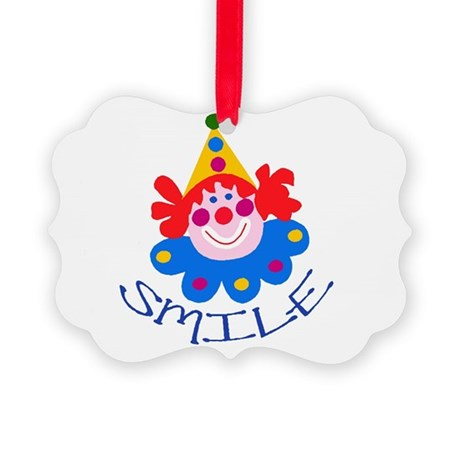 clown Picture Ornament