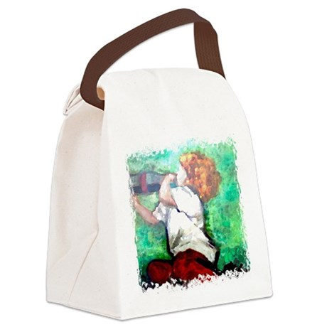 Soda Pop Canvas Lunch Bag