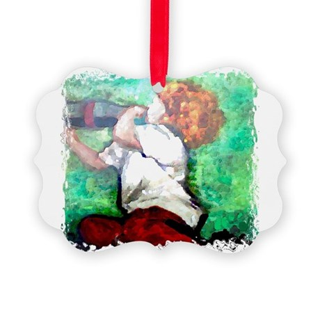 Soda Pop Picture Ornament