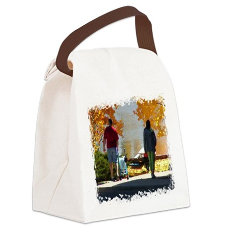 Autumn Stroll Canvas Lunch Bag