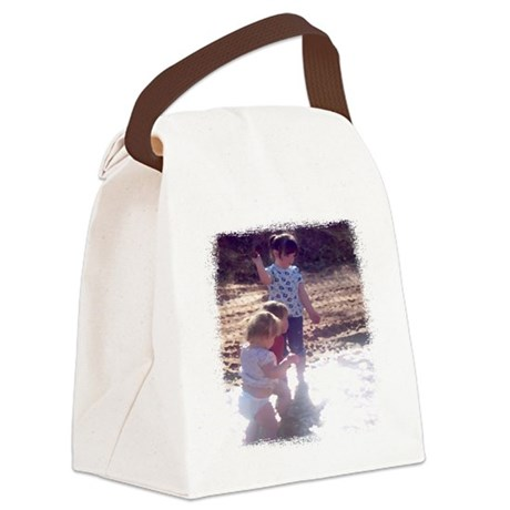 River Fun Canvas Lunch Bag