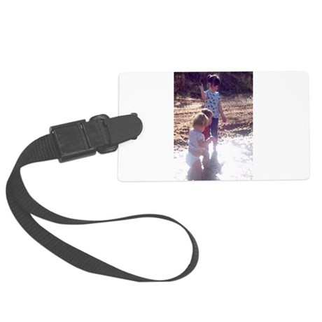 River Fun Large Luggage Tag