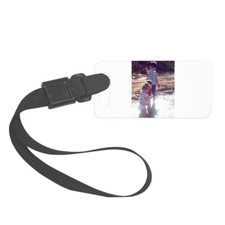 River Fun Small Luggage Tag