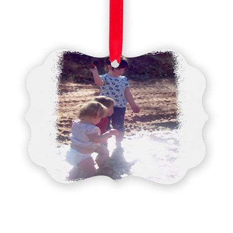 River Fun Picture Ornament