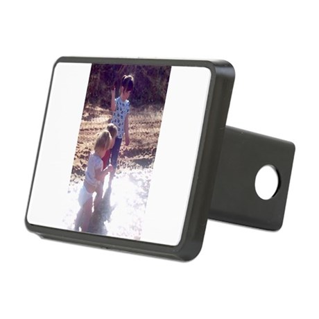 River Fun Rectangular Hitch Cover