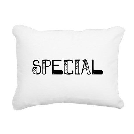 Special Rectangular Canvas Pillow