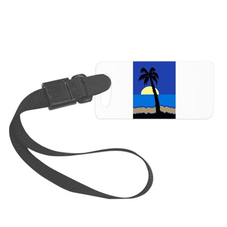 palm Small Luggage Tag