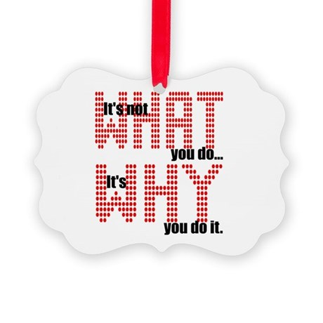 whatwhy.JPG Picture Ornament