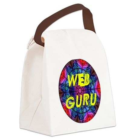 Web Guru Canvas Lunch Bag
