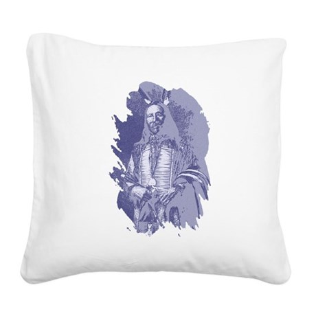 brave1c2.png Square Canvas Pillow