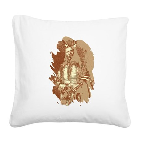 brave1a2.png Square Canvas Pillow