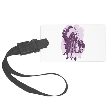 indian1esq.jpg Large Luggage Tag