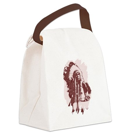 indian1dsq.jpg Canvas Lunch Bag