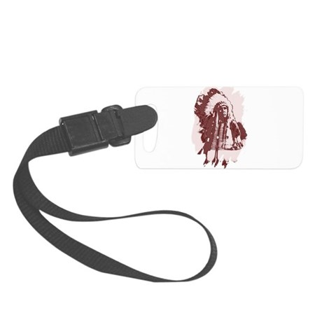 indian1dsq.jpg Small Luggage Tag