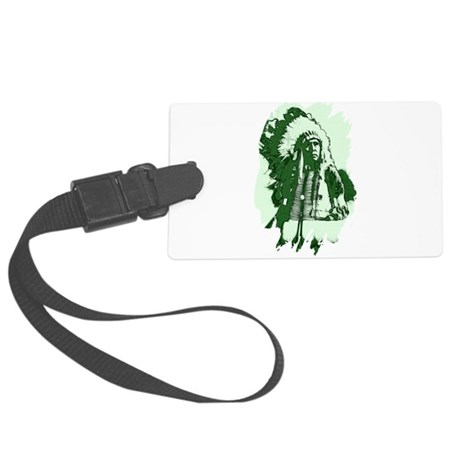 indian1csq.jpg Large Luggage Tag