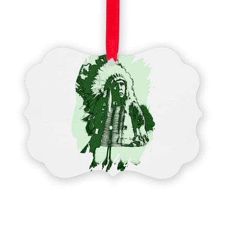 indian1csq.jpg Picture Ornament