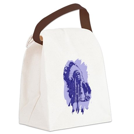 indian1bsq.png Canvas Lunch Bag