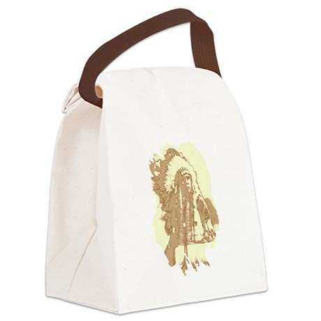 indian1.png Canvas Lunch Bag