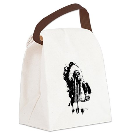indian1g.png Canvas Lunch Bag