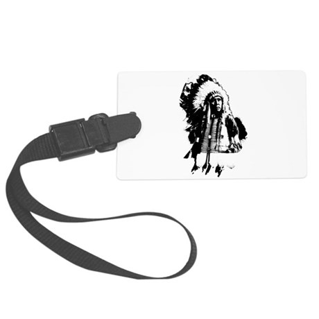 indian1g.png Large Luggage Tag
