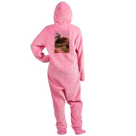 cottage1.png Footed Pajamas
