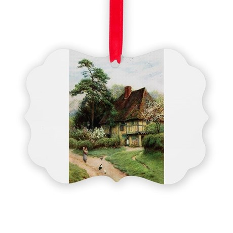cottage1.png Picture Ornament